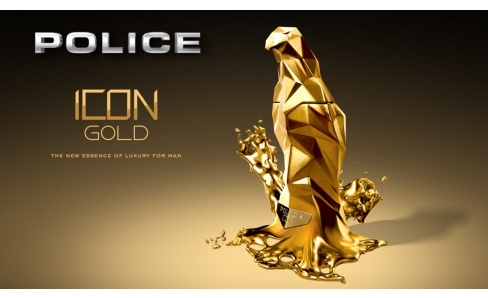 Police Icon Gold