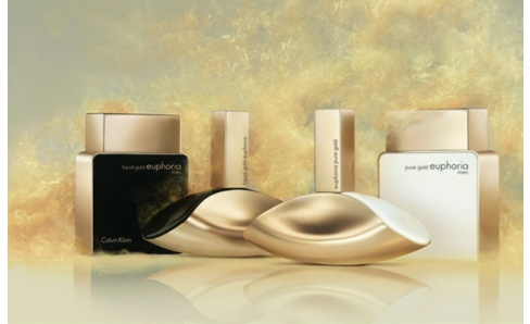 Calvin Klein Pure Gold Euphoria Men & Pure Gold Euphoria Women